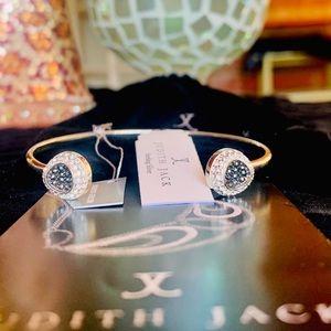 NWT Judith Jack Marcasite Swarovski Cuff Bracelet